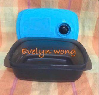🍴Tupperware Reheatable/Microwavable/Crystalwave/Heat2Eat Lunch Box 1.25L