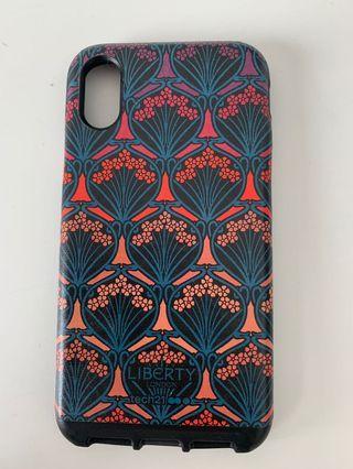 iPhone XS- Liberty London case.