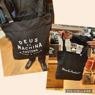 🚚 DEUS EX MACHINA ORIGINAL TOTE BAGS