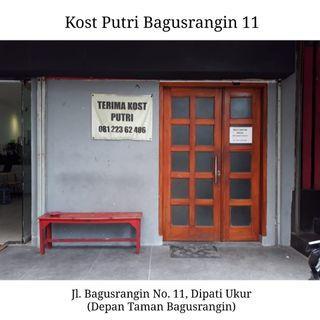 #BAPAU Sewa Kost Putri Bagusrangin 11 Dipati Ukur Bandung