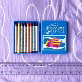 8色迷你蠟筆 crayon