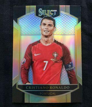[SPECIAL OFFER] 2016 Panini Select Soccer Cristiano Ronaldo Terrace Silver Prizm