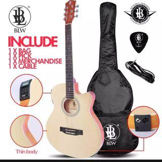 BN Slim Acoustic Electric Guitar