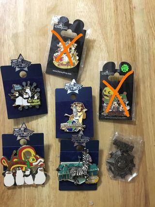 Disney/universal studio pins