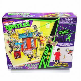 Teenage Mutant Ninja Turtles Z-Line Fire Escape Free Fall TMNT Playset