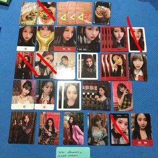 [CLEARANCE] Twice Yes Or Yes YOY Official Photocards