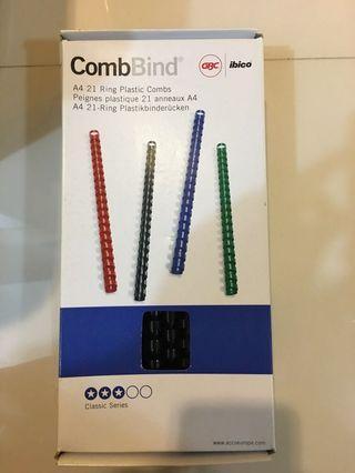 ibico CombBind 21 Ring plastic