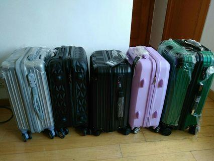 handcarry luggage bag.purple sold