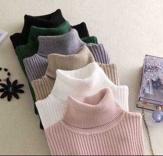 turtle neck pullovers