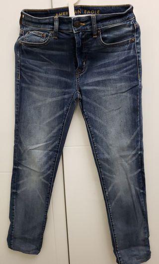 AE NE(X)T LEVEL SLIM TAPER JEAN洗水彈性牛仔褲