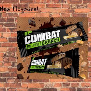 Combat Crunch-Box of 12 INSTOCK(No Preorder NONSENSE)