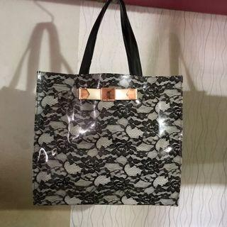 Ted Baker Jelly Bag In Lace Design
