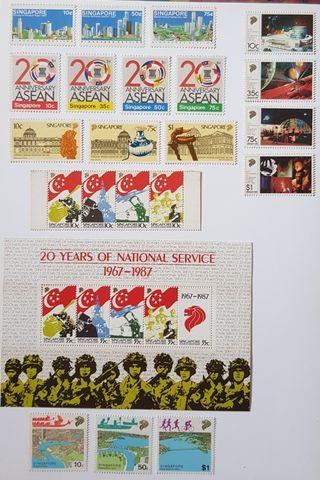 🚚 Singapore Stamps