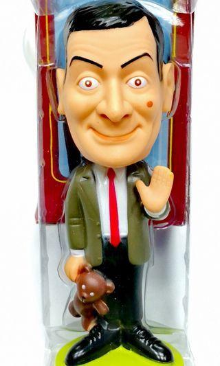 Mr. Bean Wacky Wobbler Bobble-Head Figure w/ Teddy 2007