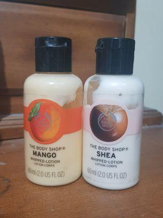 The Body Shop Whipped Lotion SHEA & MANGO