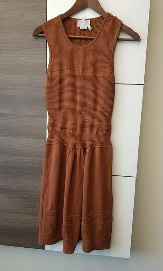 M.Patmos brown knit dress