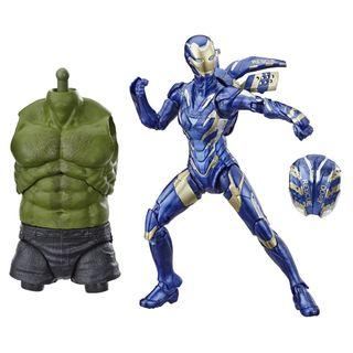 VERY RARE & HOT! *Pre-Order* Hasbro Marvel Legends Series Avengers Endgame Wave 2 Pepper Potts Marvel's Rescue Figure with Hulk BAF part! Tony I Love You 3000!