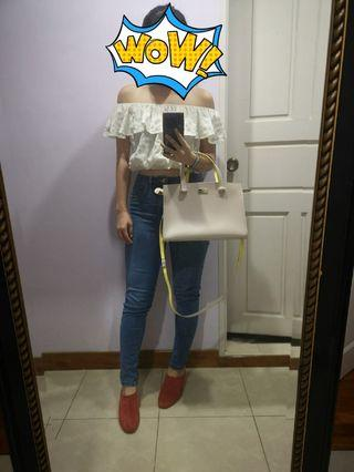 🚚 Kate Spade Caley Arbour Hill Handbag in beige/yellow