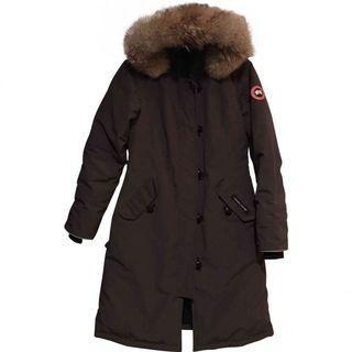 CANADA GOOSE Long Coat Grey AUTHENTIC