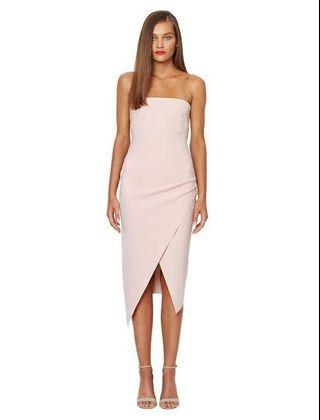 BEC & BRIDGE Aurielie dress (shell pink)