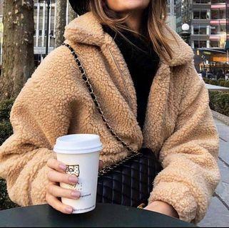 🚚 !LAST ONE! Pixie Teddy Fur Coat Jacket