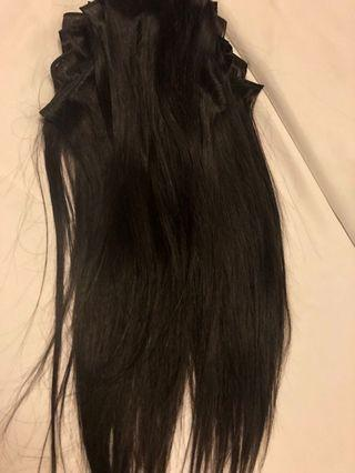 Brand new human hair 18 inch extensions 15 pieces