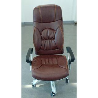 high back leatherete chair