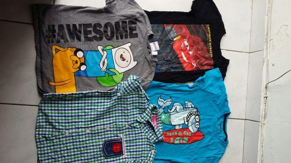 Boys Clothes size 3 to 4 years 5 also can use