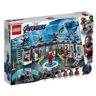 Super Heroes Marvel Lego 76125 Iron Man Hall Of Armor