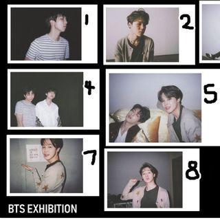 [ part 4 ] BTS exhibition book 2018 unofficial fujifilm instax polaroid bangtan boys jimin jungkook v suga jin jhope rapmonster