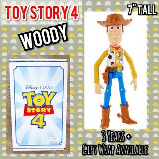 """TOY STORY 4 WOODY 7"""" Toy Figurine (Shipped Frm USA)"""