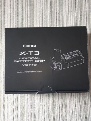 New Fujifilm X-T3 Vertical Battery Grip!