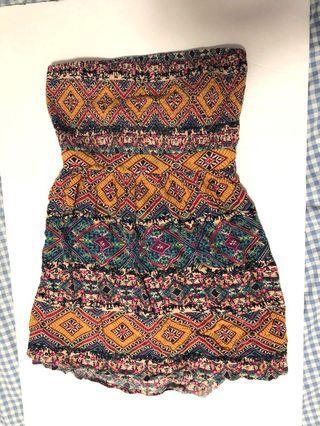 Forever 21 tube/backless dress