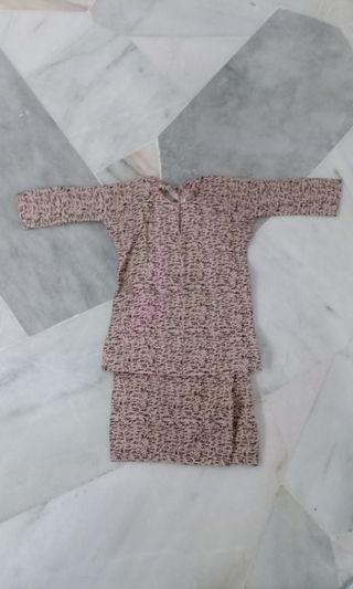 Kids Baju Kurung Cotton