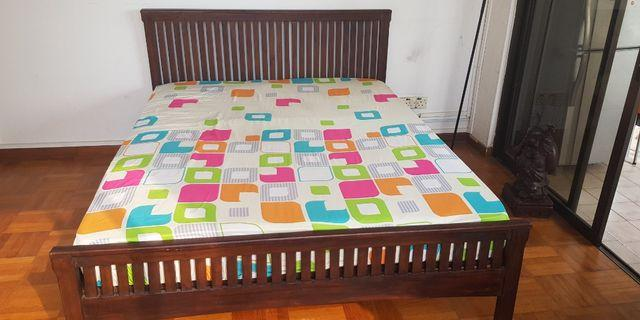 Used Wooden bed for sale