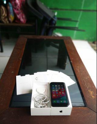 iPhone 7 plus 128gb Black Matte ex Apple Singapore Murah