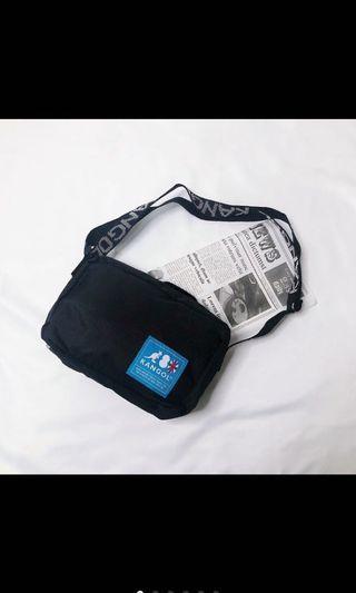 🚚 日雜附錄包kangol藍標側背包