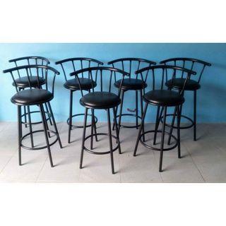 leatherete highchair stool bar