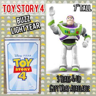 """TOY STORY 4 BUZZ LIGHTYEAR 7"""" Toy Figure (Shipped frm USA)"""