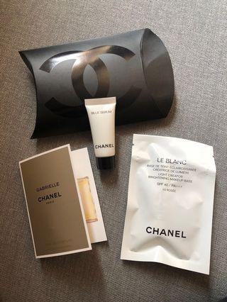 [包郵]Chanel 3件 香奈兒護膚品 妝前乳,精華液,香水(LeBranc Base, Serum, Gabrielle Perfume)