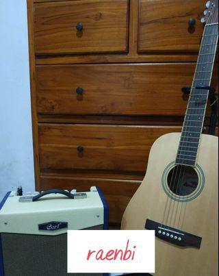 Gitar Anderson plus Amplifier