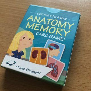 Memory Card Game - Body Parts