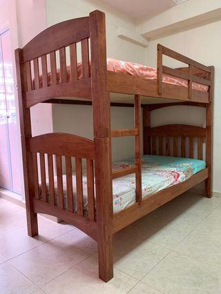 Double Decker Bed & Mattress