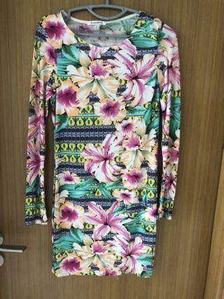 🚚 Floral Bodycon (S) - Free Size