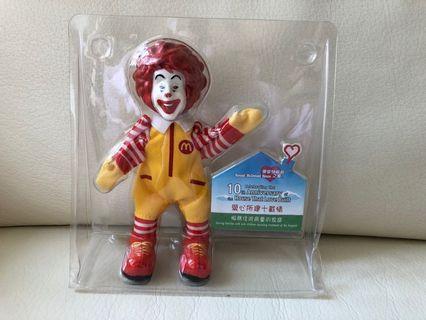 麥當勞叔叔紀念版公仔