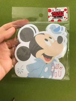 🚚 Mickey Mouse note paper