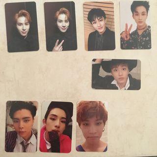 [CLEARANCE] NCT Regular Irregular Cherry Bomb Unofficial Photocards Photocard PCs