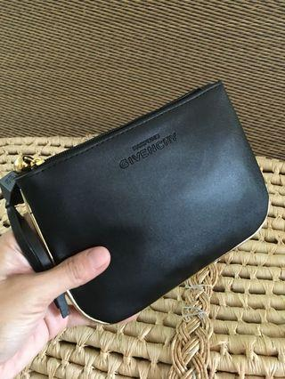 Ready stock: Givenchy parfums leather clutch