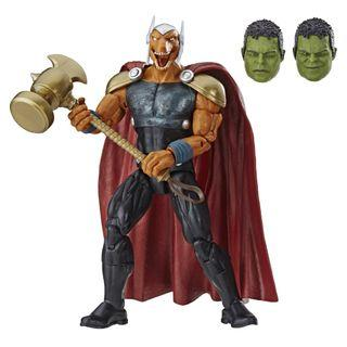 VERY RARE & HOT! *Pre-Order* Hasbro Marvel Legends Series Avengers Endgame Wave 2 Beta Ray Bill with Hulk BAF part!