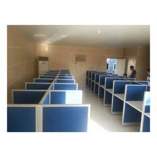 customize office partition full fabric